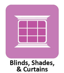 Blinds, Shades & Curtains