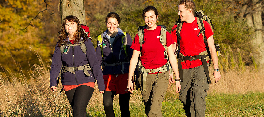 A group of hikers