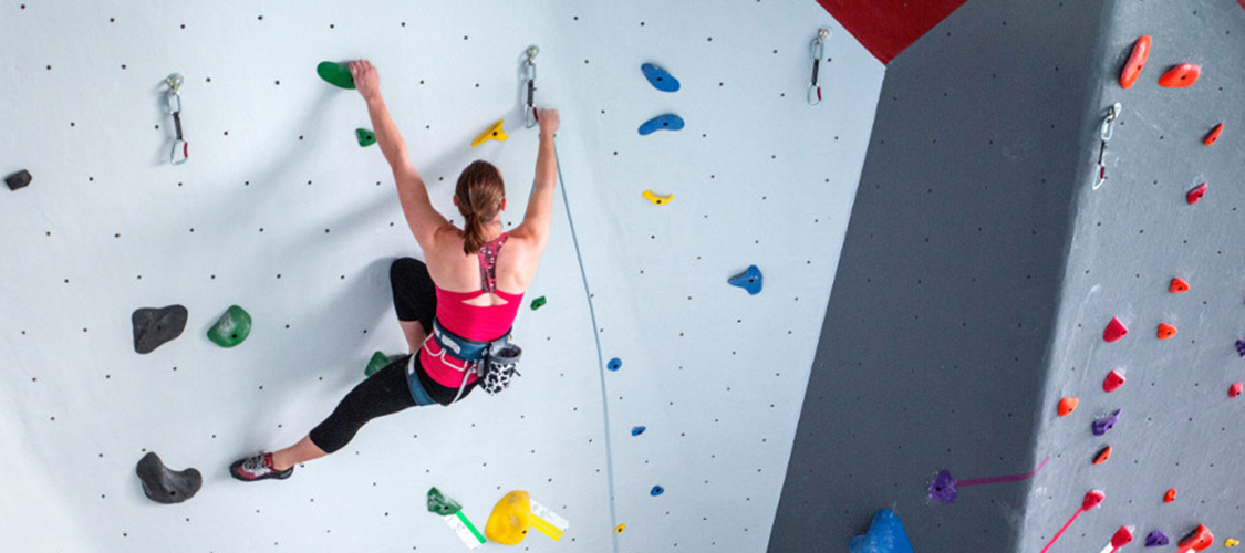 Climber Sport Leading at LCC