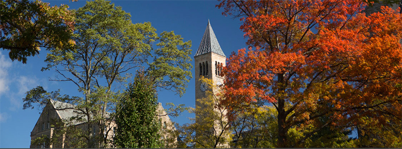 McGraw Tower in Autumn